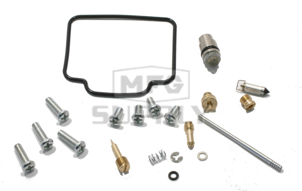 Complete ATV Carburetor Rebuild Kit for 2000 Polaris