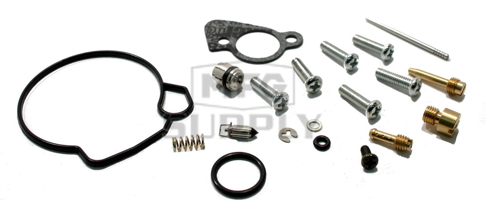 Complete ATV Carburetor Rebuild Kit for 01 Polaris