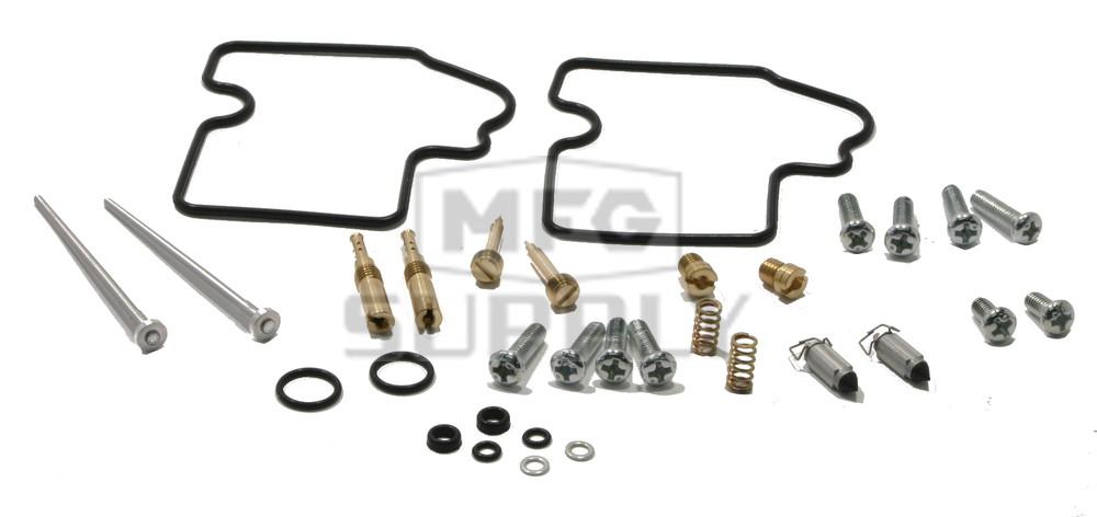Complete ATV Carburetor Rebuild Kit for 04-09 Kawasaki KFX