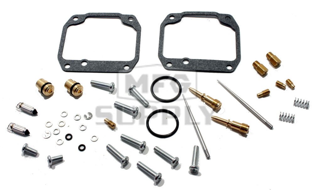 Complete Carburetors Rebuild Kit for 87-09 Yamaha YFZ350