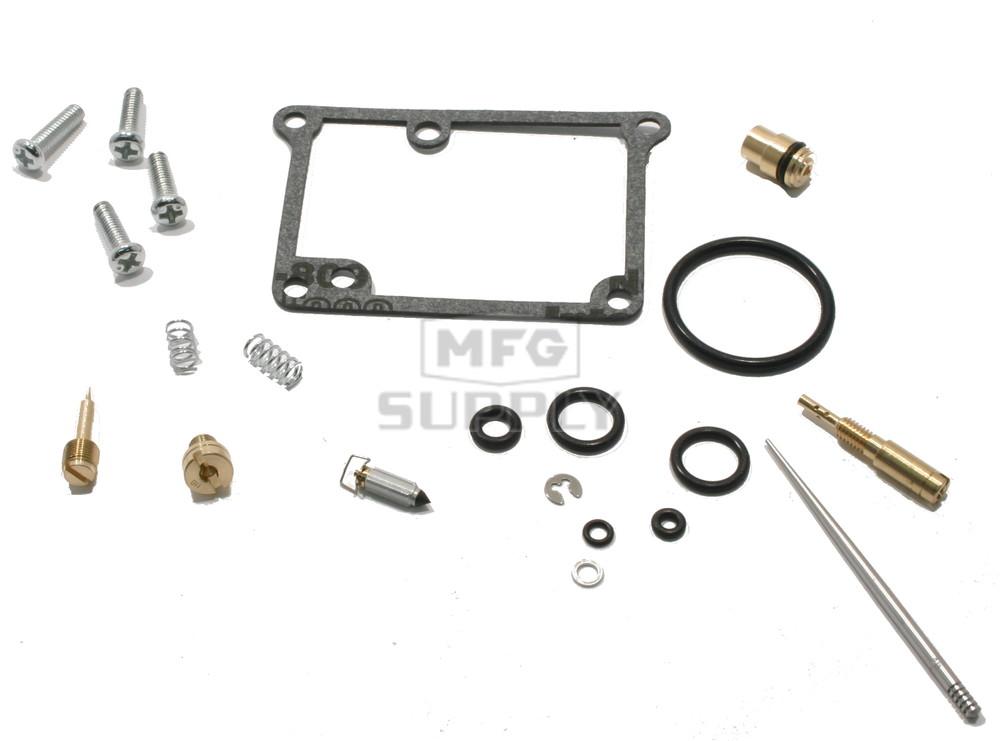 Complete ATV Carburetor Rebuild Kit for 89-90 Suzuki LT