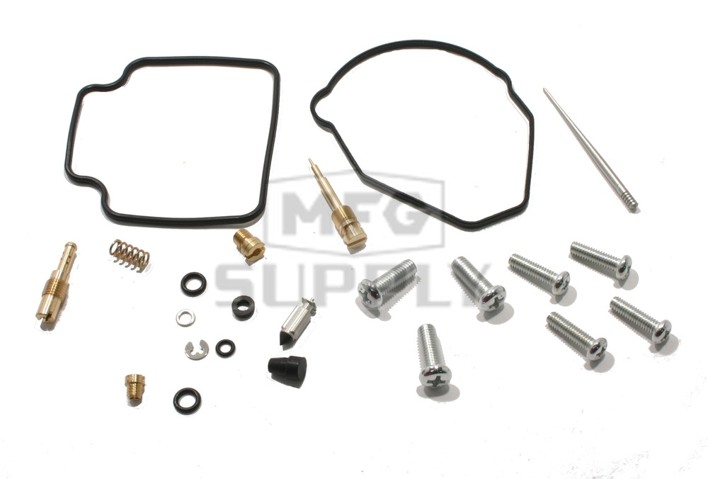 Complete ATV Carburetor Rebuild Kit for 86-87 Honda TRX250