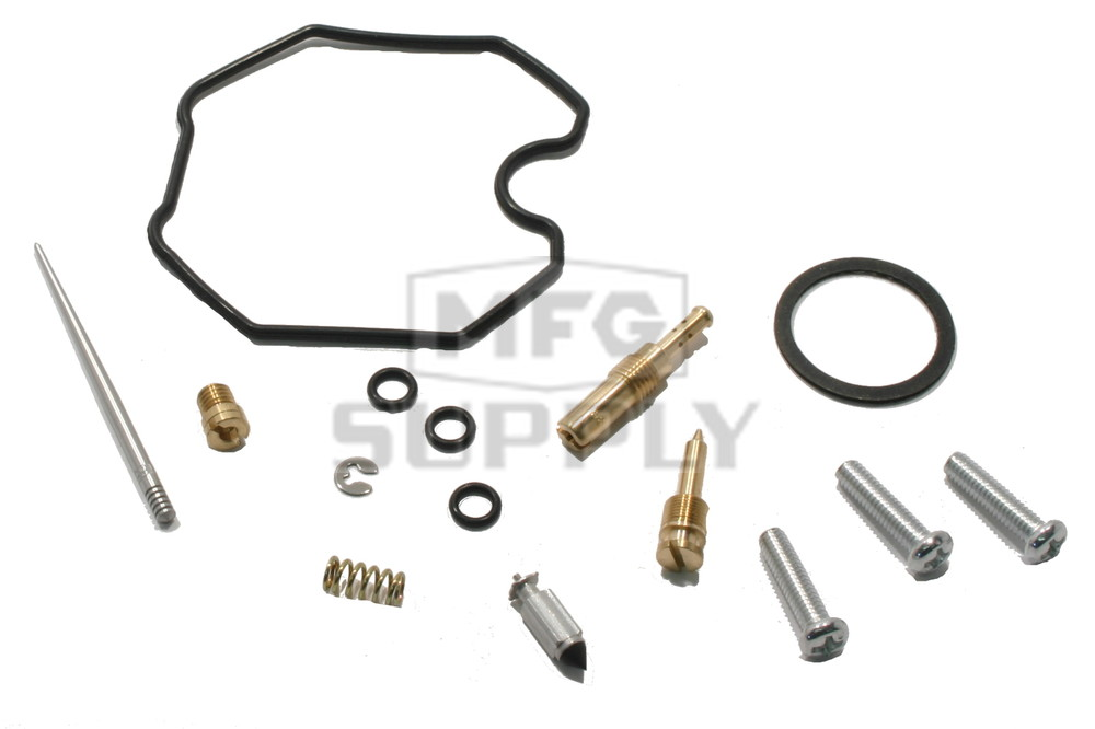 Complete ATV Carburetor Rebuild Kit for 90-91 Honda TRX200