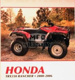 cm200 00 06 honda trx350 rancher all models repair maintenance manual [ 1000 x 1450 Pixel ]