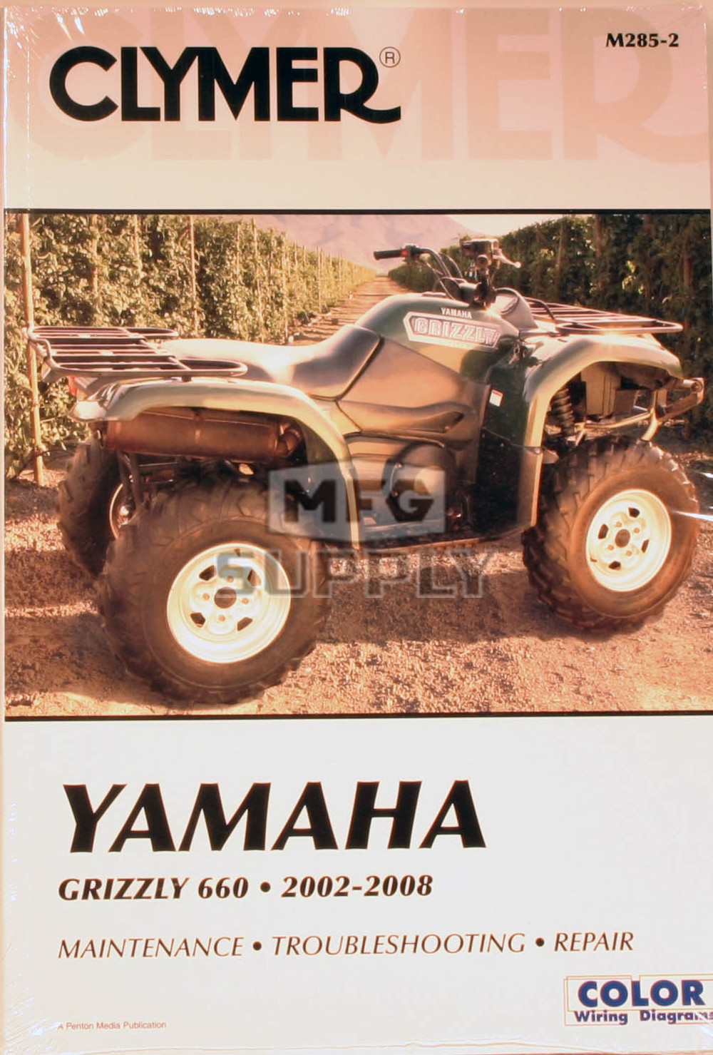 hight resolution of cm285 02 08 yamaha grizzly 660 repair maintenance manual