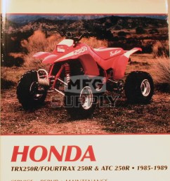 cm348 85 89 honda atc trx250r repair maintenance manual  [ 1000 x 1430 Pixel ]