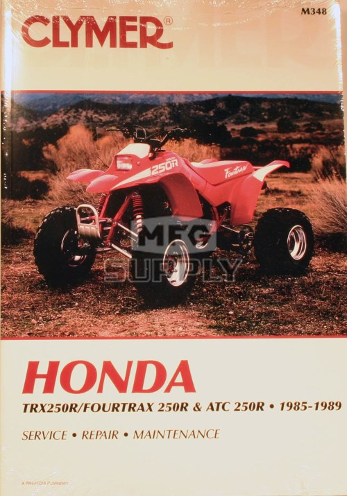small resolution of cm348 85 89 honda atc trx250r repair maintenance manual