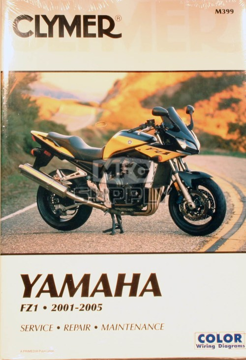 small resolution of cm399 01 05 yamaha fz1 repair maintenance manual