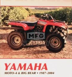 cm490 87 04 yamaha moto 4 big bear repair maintenance manual [ 1000 x 1450 Pixel ]