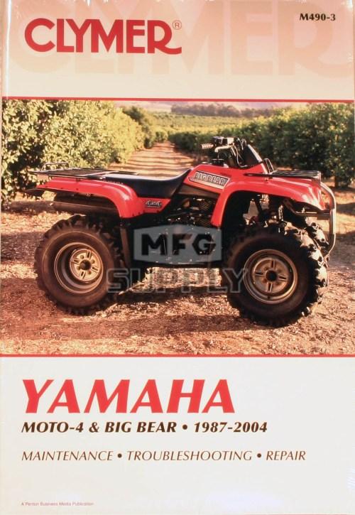 small resolution of cm490 87 04 yamaha moto 4 big bear repair maintenance manual