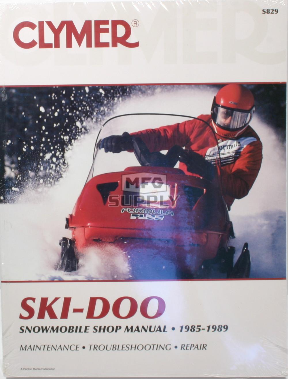 1980 Ski Doo Shop Manual
