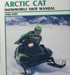 cs835 88 89 arctic cat wildcat el tigre ext snowmobile shop manual [ 1000 x 1315 Pixel ]