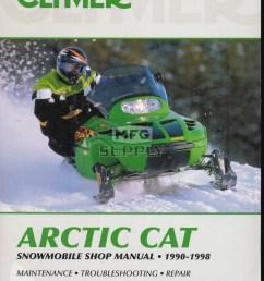 cs836 90 98 arctic cat snowmobile shop manual [ 1000 x 1290 Pixel ]