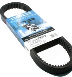 hp3020 polaris dayco hp high performance belt fits 72 01 mid [ 1000 x 946 Pixel ]