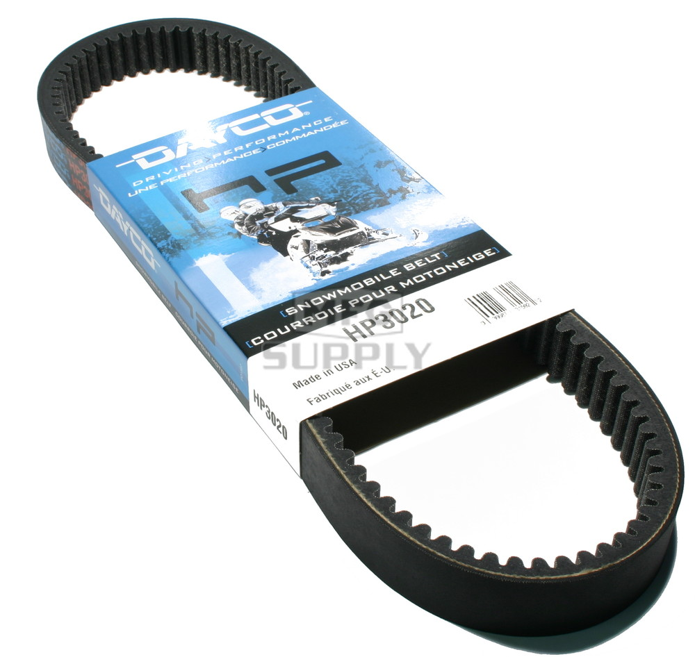 hight resolution of hp3020 polaris dayco hp high performance belt fits 72 01 mid