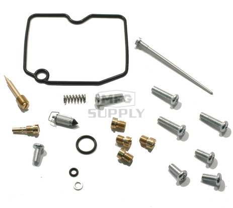 Complete ATV Carburetor Rebuild Kit for 02-04 Arctic Cat