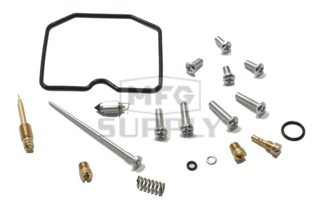 Complete ATV Carburetor Rebuild Kit for 02-05 Suzuki LT