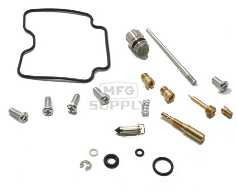 Complete ATV Carburetor Rebuild Kit for 00-02 Suzuki LT