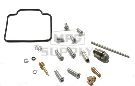 Complete ATV Carburetor Rebuild Kit for 00-02 Polaris