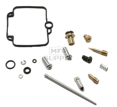 Complete ATV Carburetor Rebuild Kit for 98-00 Yamaha