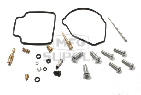 Complete ATV Carburetor Rebuild Kit for 86-87 Honda TRX250