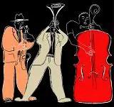 sketch of jazz musicians