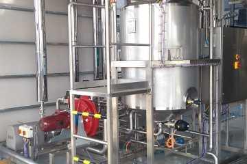 Montaje de Piping y Equipos Para Cerveceria Quilmes Tucuman en Sala de Fermentacion