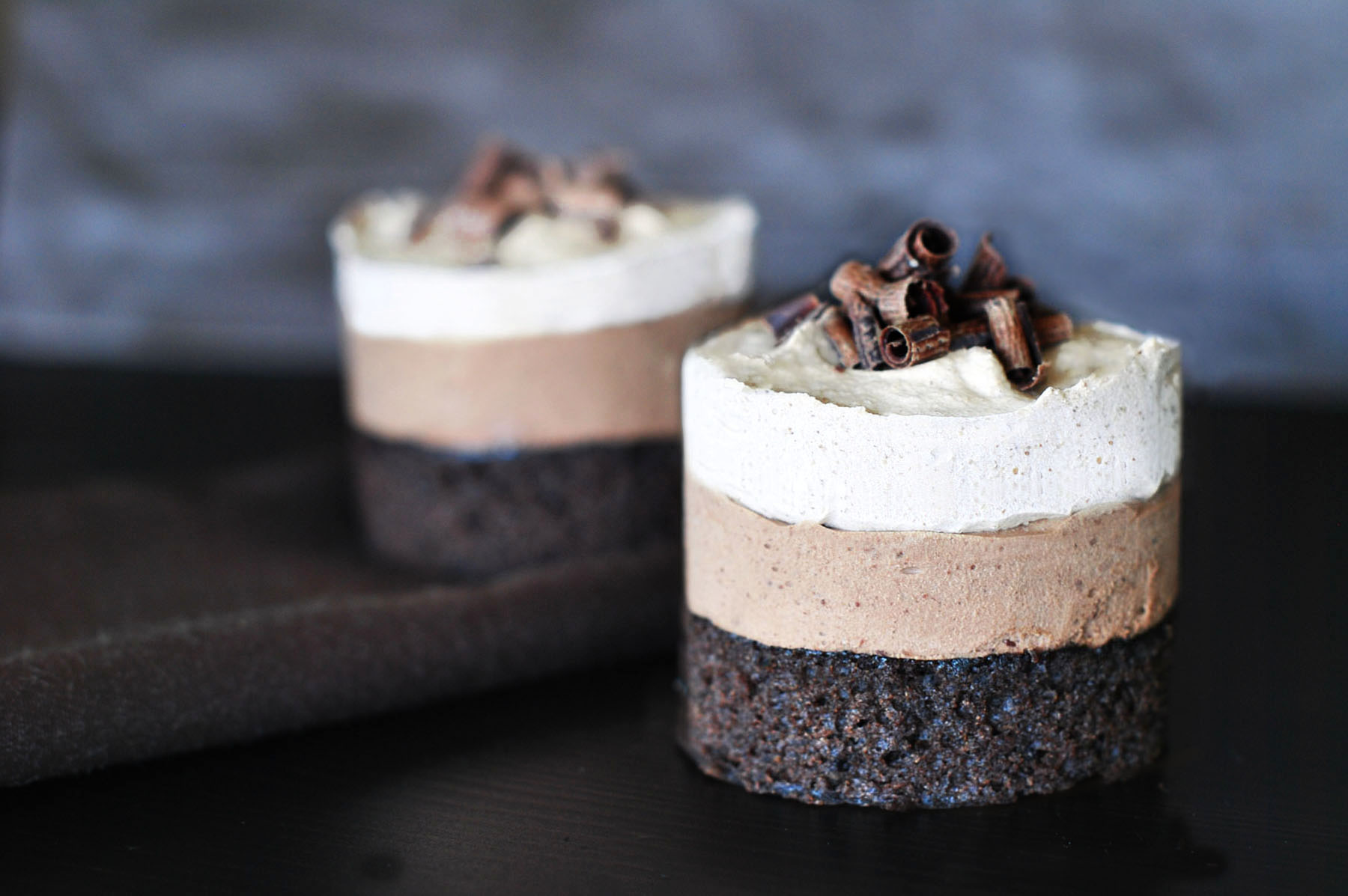 Individual Mousse Cakes