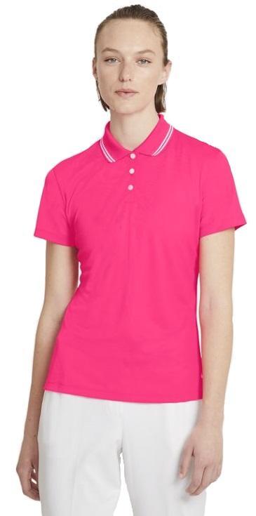 Dámske funkčné tričko Nike DRY vetra POLO SS SLD OLC W Ružová