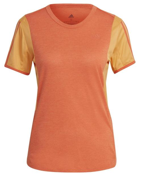 Dámske bežecké tričko adidas Own The Run Oranžová / Žltá