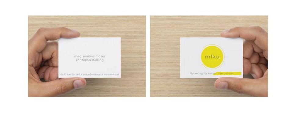 Visitenkarten Richtig Erstellen Ein Paar Tipps Mfku