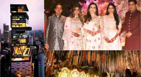 Mukesh Ambani Daughter Wedding Pics