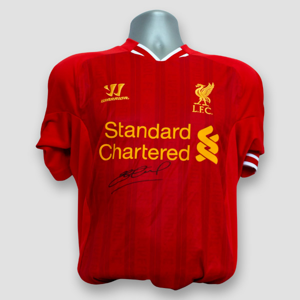 a75987031 Liverpool F.C. shirt personally signed by Steven Gerrard