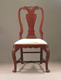 Queen Anne George I Cuban Mahogany Side Chair - M. Ford ...