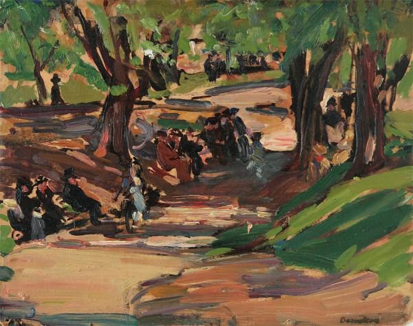 Theresa Ferber Bernstein Central Park; . Ford Creech