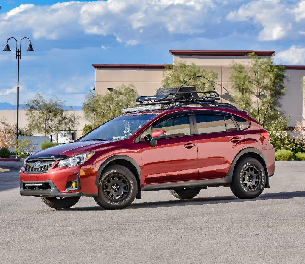 driver of the day alex groene s desert roaming 2016 subaru xv crosstrek mfortyfive. Black Bedroom Furniture Sets. Home Design Ideas