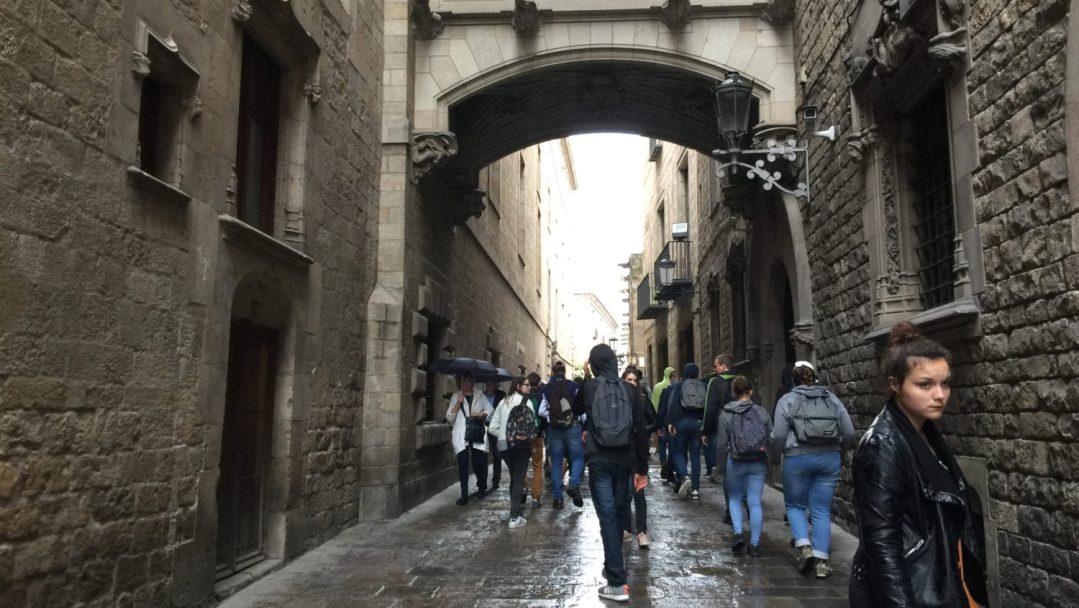 Arrivée et quartier gothique Barcelone (16)