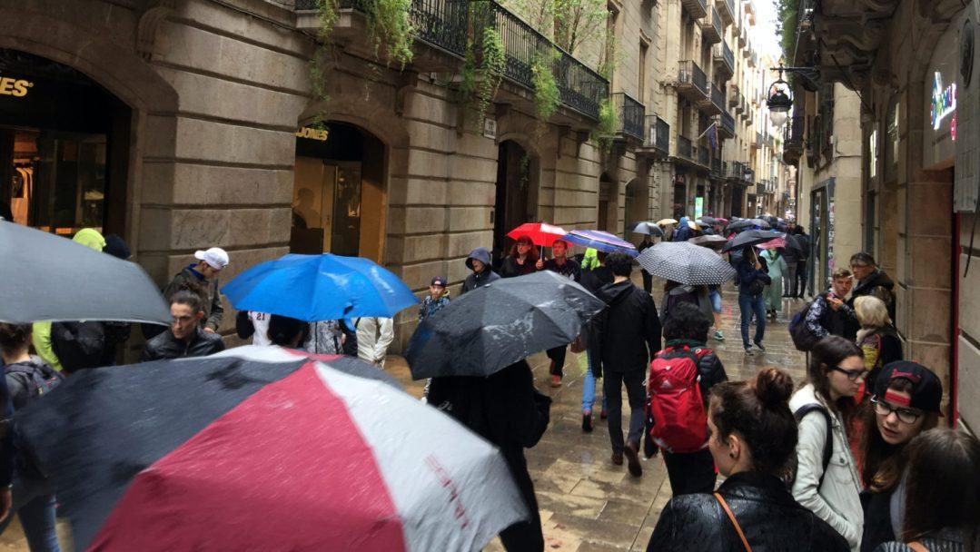 Arrivée et quartier gothique Barcelone (29)