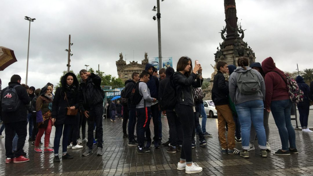 Arrivée et quartier gothique Barcelone (9)