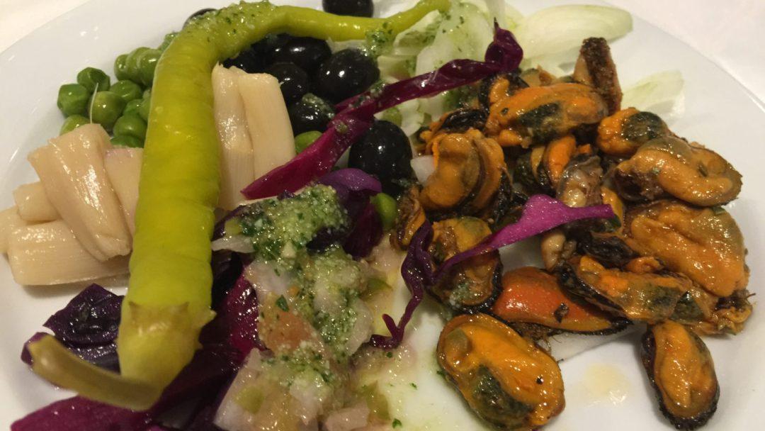 Diner et début veillée Barcelone (3)