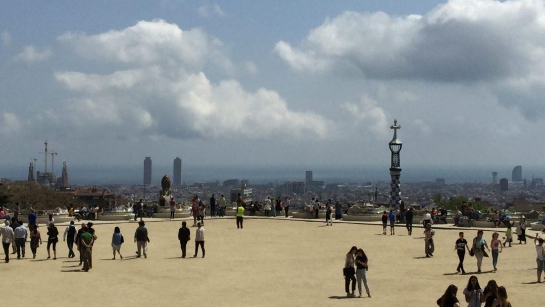 Parc Guel Barcelone (1)