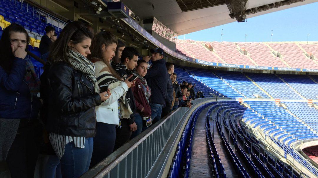Visite du Camp Nou Barcelone (27)