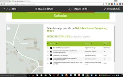 Un tout nouveau site pour les MFR