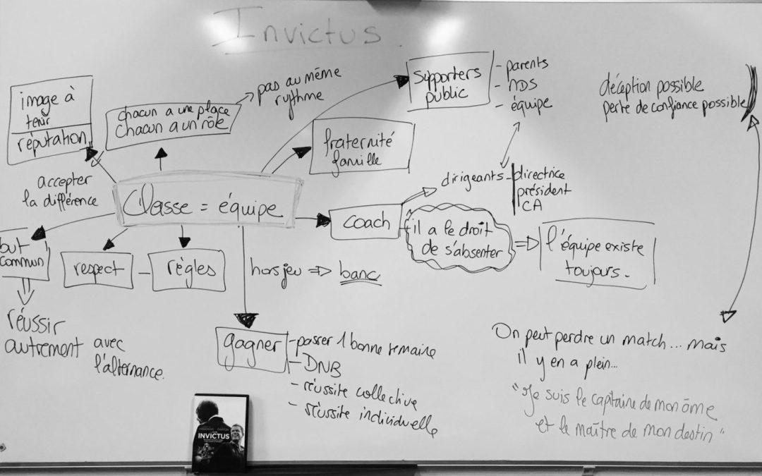 Invictus et la métaphore de l'équipe de Rugby