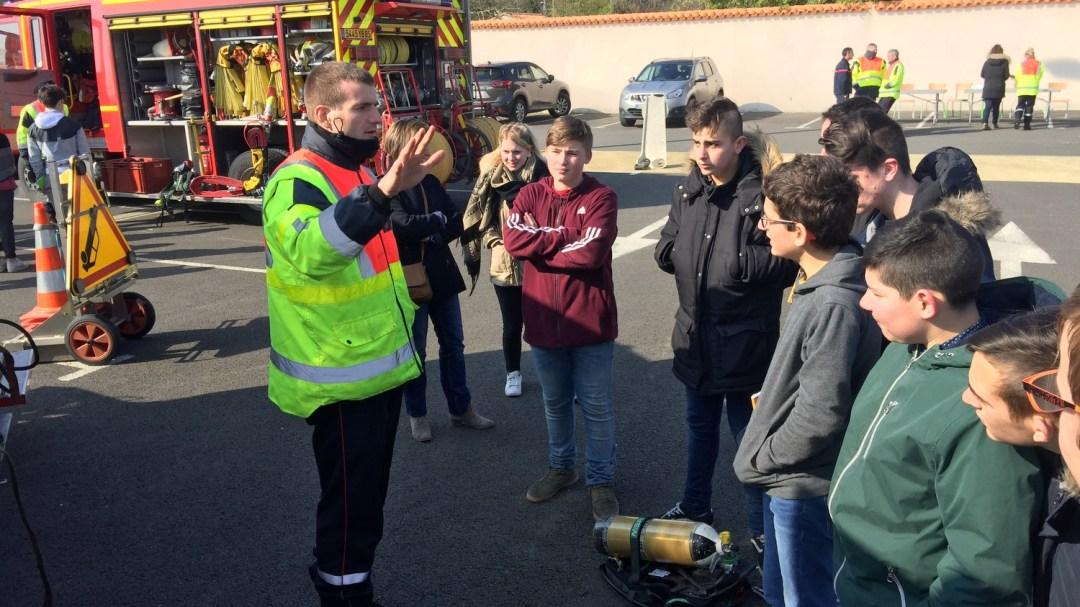 Animation Projet Pompiers BTS Bel-Air CFA MFR Puy-Sec (31)