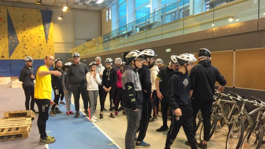 Au Tour Du Vélo Vendéspace Mars 2018 3è CFA MFR PuySec (126)