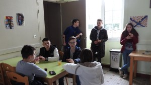 Accueil futurs 4e et 3e Ateliers Partagés CFA MFR Puy-Sec Avril 2018 Présentation CFA MFR de Puy-Sec Goûter partagé