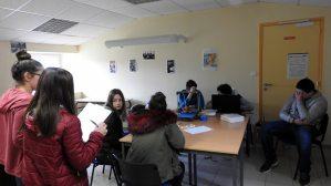 Accueil futurs 4e et 3e Ateliers Partagés CFA MFR Puy-Sec Avril 2018 Présentation CFA MFR de Puy-Sec Atelier imprimante 3D