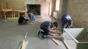 Accueil futurs 4e et 3e Ateliers Partagés CFA MFR Puy-Sec Avril 2018 atelier cages