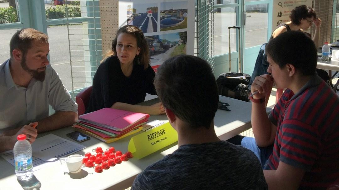 Rencontre de l'Alternance SudVendée Avril 2018 CFA MFR PuySec